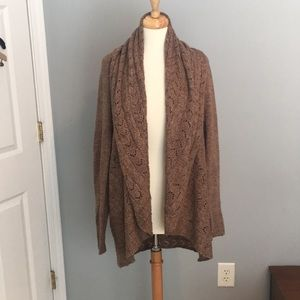 Beautiful Brown Karen Scott Cardigan
